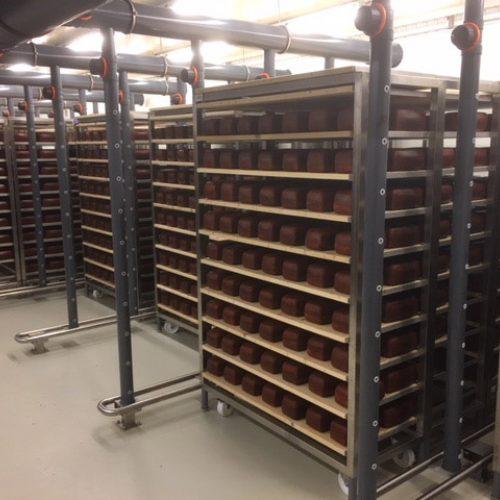 Karren en stootbuizen Kaasmakerij